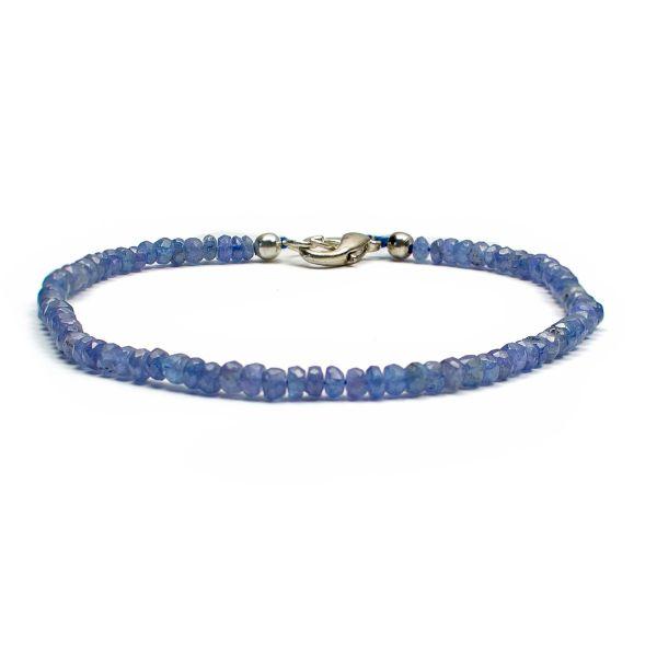Blue Sapphire Anklet