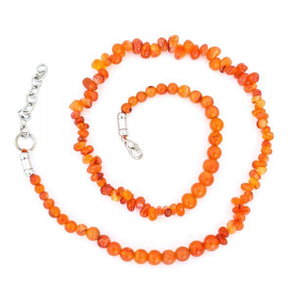 Carnelian Gemstone Necklace