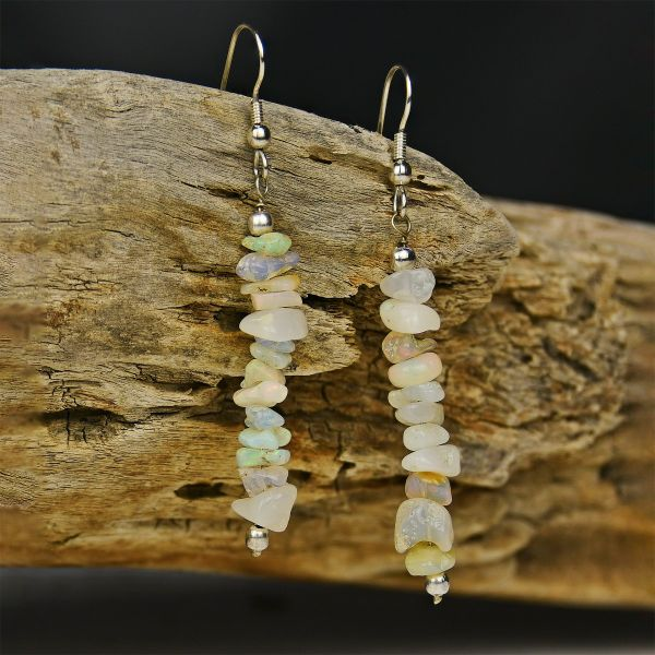 Ethiopian Opal Earrings