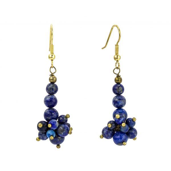 Lapis Lazuli Gemstone Earrings