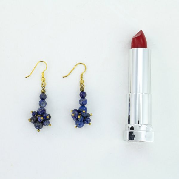 Lapis Lazuli Gemstone Earrings