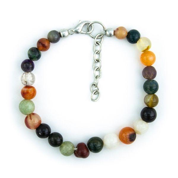 Multi-Agate Bracelet