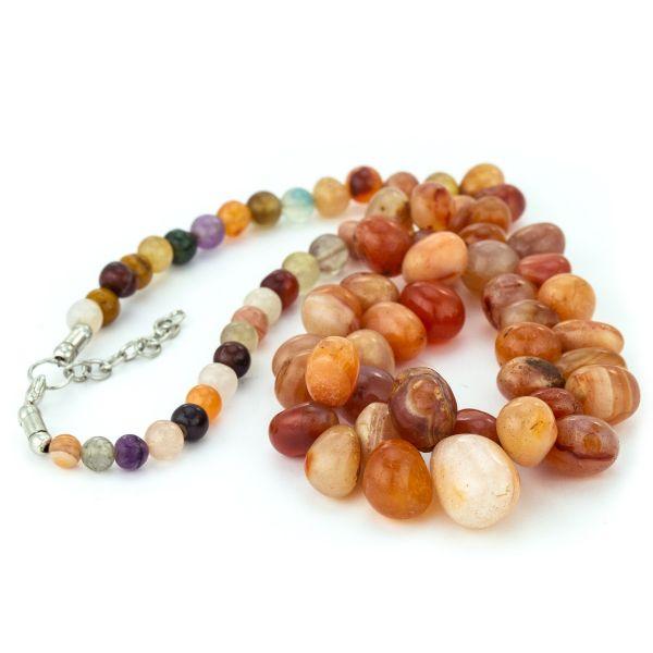 Multi-Agate Necklace