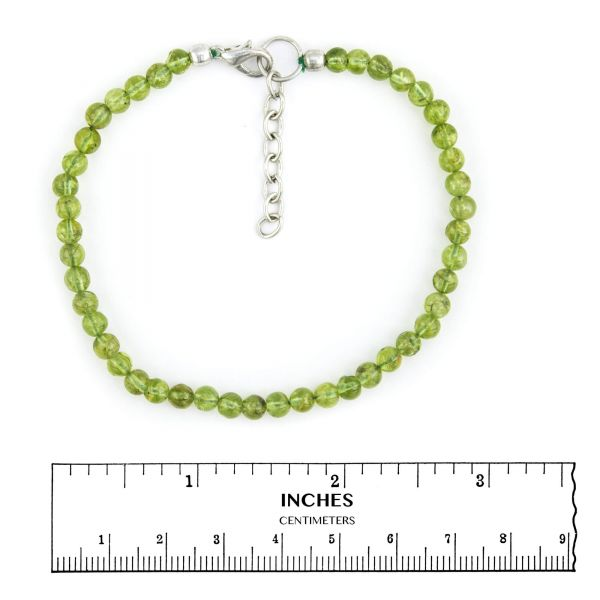Peridot Anklets
