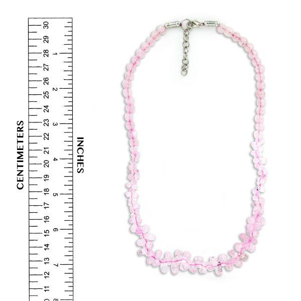 Rose Quartz Handmade Necklace