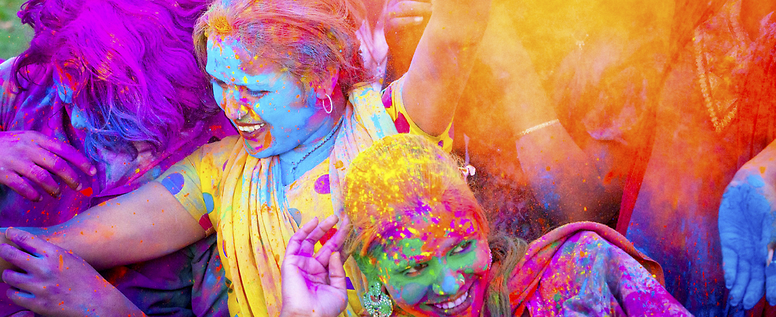 Holi's Colors